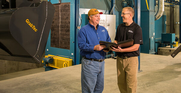 Jason Appel Meets with Customer