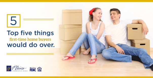 Top 5 things first-time homebuyers would change if they could do it over again