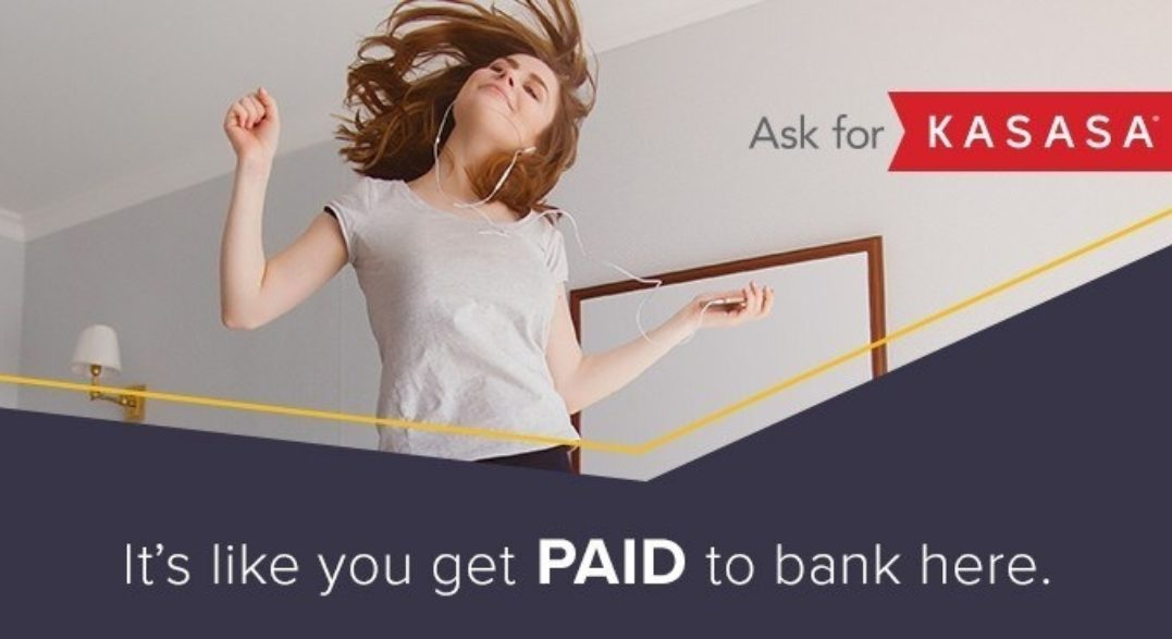 Ask for Kasasa. It's like you get paid to bank here.